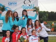 PODIUM CHICAS-K1 JUN PENRITH 2014