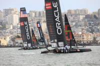 Segunda jornada de las AC World Series San Francisco con Oracle mandando