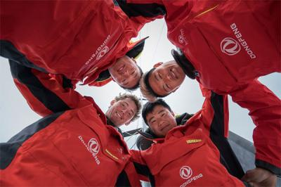 Dongfeng Race Team confirma a tres tripulantes chinos